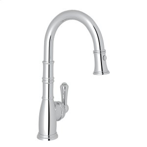 Polished Chrome Perrin & Rowe Georgian Era Pull-Down Bar/Food Prep Faucet Product Image