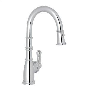 Polished Chrome Perrin & Rowe Georgian Era Pull-Down Bar/Food Prep Faucet Product Image