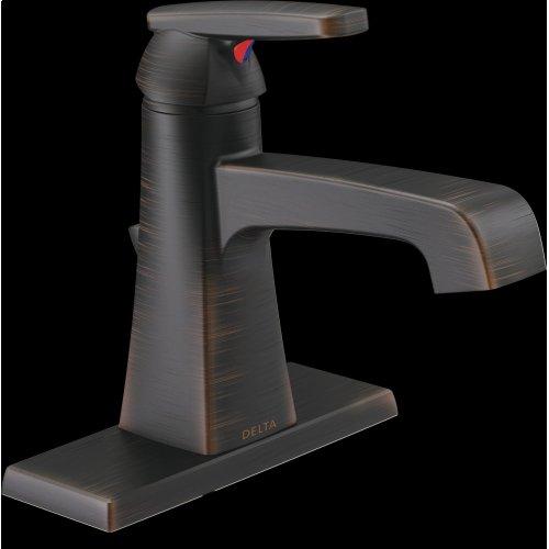 Venetian Bronze Single Handle Bathroom Faucet