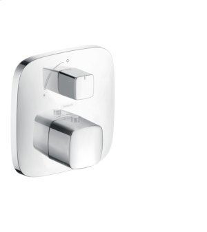 Chrome Thermostatic Trim with Volume Control Product Image