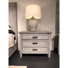 Willow Large Nightstand - Pewter