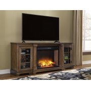 Flynnter - Medium Brown 2 Piece Entertainment Set Product Image