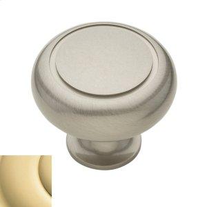Polished Brass Deco Knob Product Image