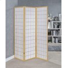 Transitional Natural Folding Screen Product Image