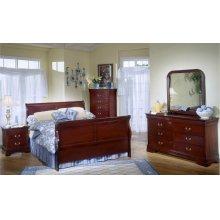 5933 Classic Queen GROUP; QB, Dresser Mirror, Chest