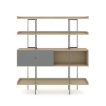 5201 Shelf in Drift Oak Fog Grey