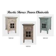 Rustic Shores Power Chairside - Surfside