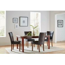 Nessa Casual Brown Dining Chair