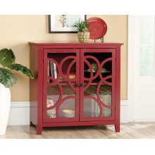 Decorative Storage and Display Cabinet with Doors