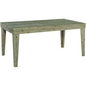 36X66 ASPEN DINING TABLE IN GRAY WASH