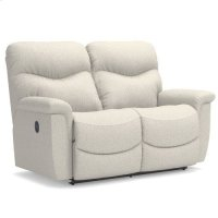 James Reclining Loveseat Product Image
