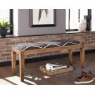 Bohemian Upholstered Bench Product Image
