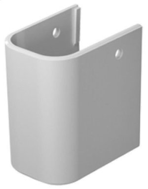 White Happy D.2 Siphon Cover Product Image