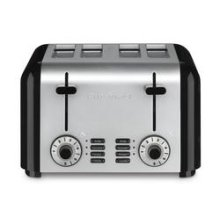 4 Slice Compact Stainless Toaster