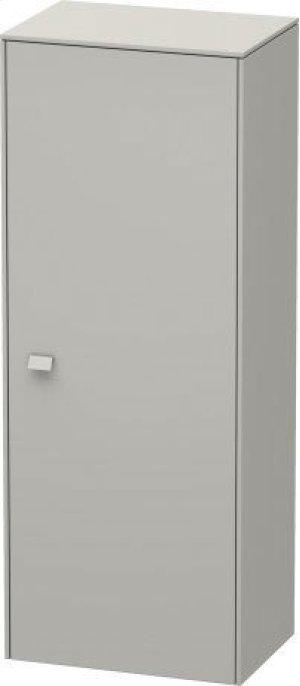 Semi-tall Cabinet, Concrete Gray Matte (decor) Product Image