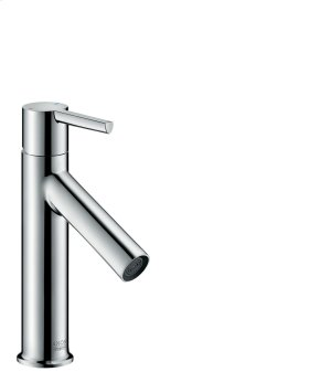 Chrome Single lever basin mixer 100 with lever handle and pop-up waste set Product Image