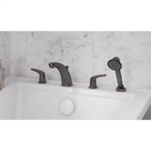 Colony Pro Deck Mount Tub Filler with Hand Shower  American Standard - Legacy Bronze