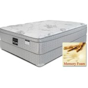 "ONYX LABEL - Comfortec - Chateau - 14"" Euro Box Top - Queen Product Image"