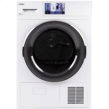 "4.1 cu.ft. Capacity 24"" Ventless Condenser Frontload Electric Dryer with Stainless Steel Basket"