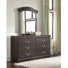 Vachel - Dark Brown 2 Piece Bedroom Set Product Image