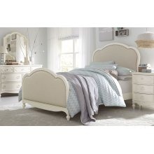 Harmony by Wendy Bellissimo Victoria Upholstered Panel Bed Full
