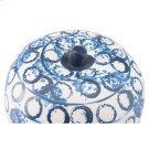 Ree Apple Blue & White Product Image