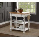 Avondale White Kitchen Island Product Image