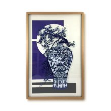Impressionable Surfaces Flow Blue Series Wall Art