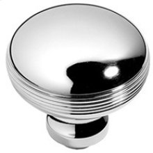 "Antique Brass Unlacquered Contour door knobs pair, 2"" diameter"