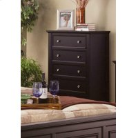 Sandy Beach Cappuccino Five-drawer Chest Product Image