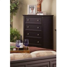Sandy Beach Cappuccino Five-drawer Chest
