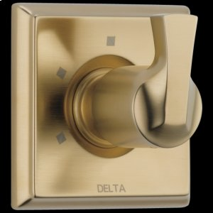 Champagne Bronze 3-Setting 2-Port Diverter Trim Product Image