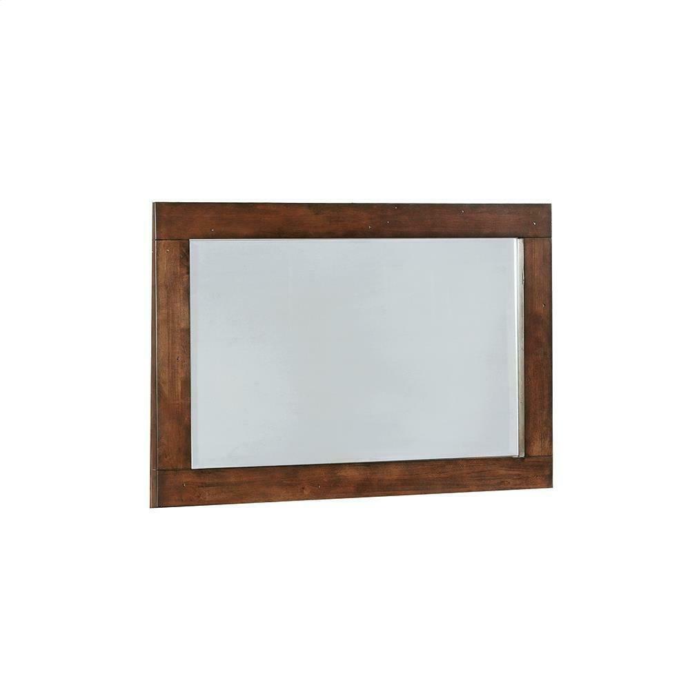 Artesia Dark Cocoa Rectangular Dresser Mirror