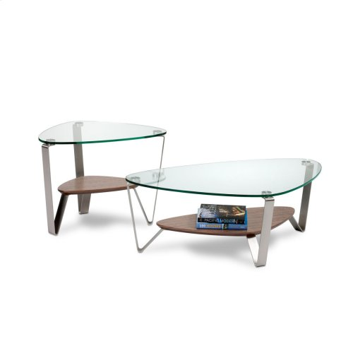Small Coffee Table 1344 in Natural Walnut
