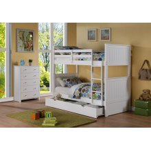 Sasha White Storage Drawer or Twin Trundle