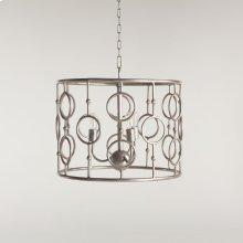 Highlight Iron Round Ring Design Pendant Lamp