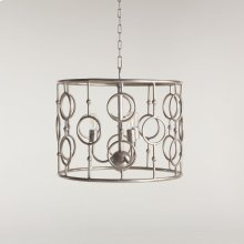 Highlight Iron Round Ring Design Pendant Lamp