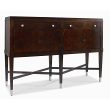 Metro Luxe Sideboard With Marble