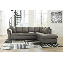 Darcy - Cobblestone 2 Piece Sectional