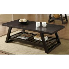 Cappuccino Coffee Table