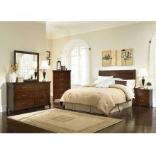 Tatiana Traditional Warm Brown Headboard