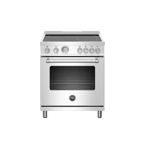 30 inch Induction Range,4 Heating Zones, Electric Oven Stainless Steel