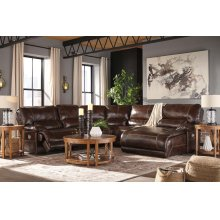 Killamey - Walnut 7 Piece Sectional