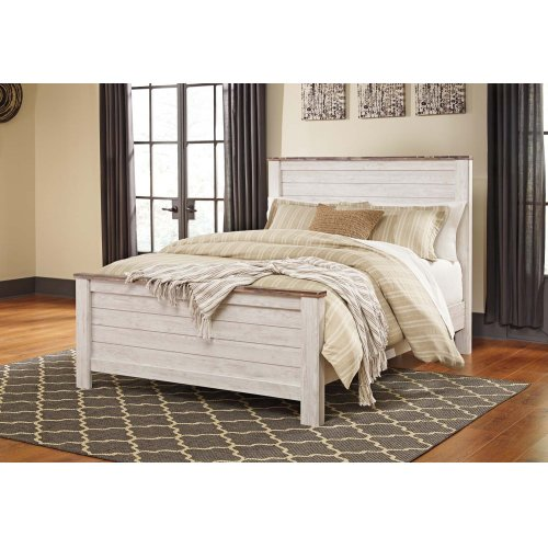 B267 Queen Bed (Willowton)