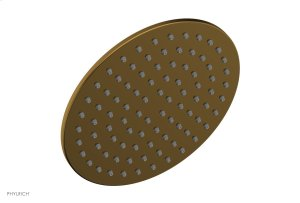 """8"""" Round Shower Head 3-334 - French Brass Product Image"""