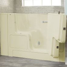 Premium Series 32x52-inch Walk-In Soaking Tub with Outswing Door  American Standard - Linen