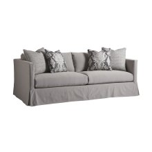 Marina Slipcover Sofa - Gray