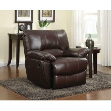 Clifford Motion Dark Brown Glider Recliner