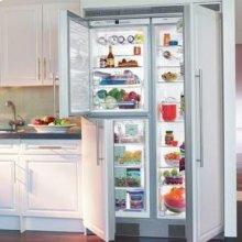"24"" Built-in Full Refrigerator Premium, NoFrost ~ Stainless Steel Finish"