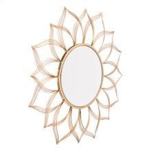 Flower Gold Mirror